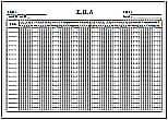 Excelで作成した工程表