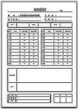 Excelで作成した作業日報