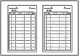 Excelで作成した集金袋