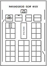 Excelで作成した座席表