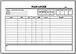 Excelで作成した物品購入申請書