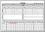 Excelで作成した作業計画書