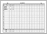 Excelで作成した出欠確認表