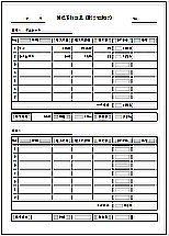 Excelで作成した原価率計算表