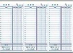 Excelで作成した日計表