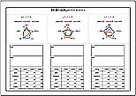 Excelで作成したレーダーチャート