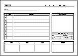 Excelで作成した学級日誌