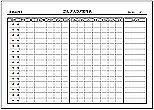 Excelで作成したゴルフスコア管理表